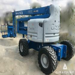 Aerial lifts GENIE Z60/34 Articulating Boom lift MALAYSIA, JOHOR