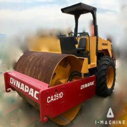 Road Machines DYNAPAC CA251D Vibration Roller MALAYSIA, SELANGOR