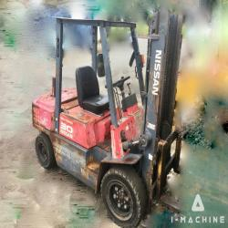 Forklifts NISSAN YGJ02A30 Diesel Forklift MALAYSIA, JOHOR