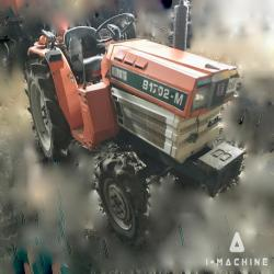 Agriculture Machines KUBOTA B1702-M Farm Tractor MALAYSIA, JOHOR